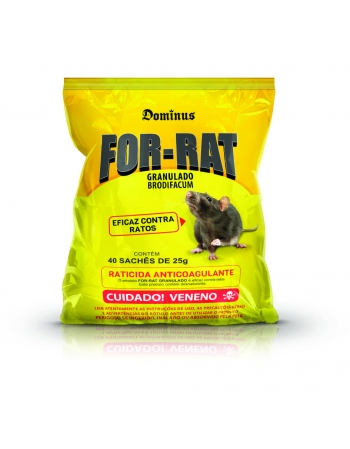 FOR-RAT GRANULADO 40X25G