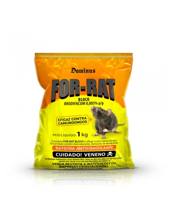 FOR-RAT BLOCO 50X20GR