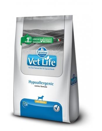 VET LIFE CANINE HYPOALLERGENIC MINI 2KG