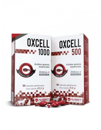 OXCELL 500MG - 30 CAPSULAS