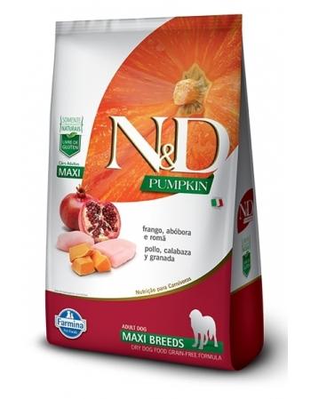 ND PUMPKIN CANINE FRANGO ADULTO MAXI 10,1KG