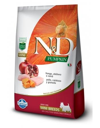 ND PUMPKIN CANINE FRANGO ADULTO MINI 2,5KG