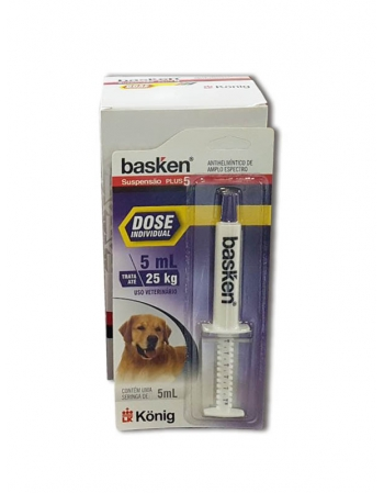 BASKEN SUSPENSAO SERINGA 5 ML (ATE 25KG)
