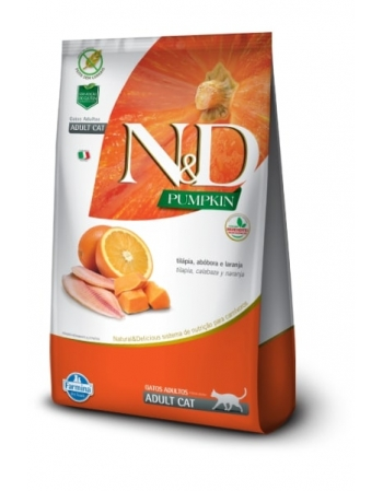 ND PUMPKIN FELINE TILAPIA ADULTO 1,5KG