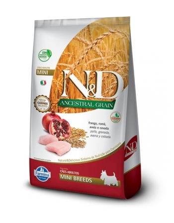 ND ANCESTRAL CANINE FRANGO ADULTO MINI 2,5KG