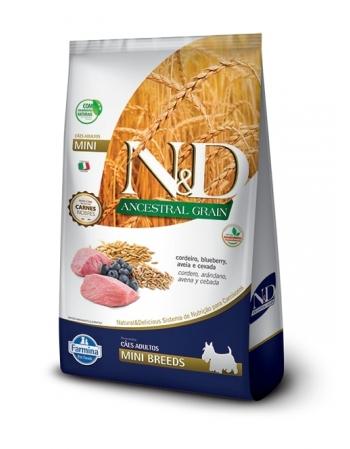 ND ANCESTRAL CANINE CORDEIRO ADULTO MINI 2,5KG