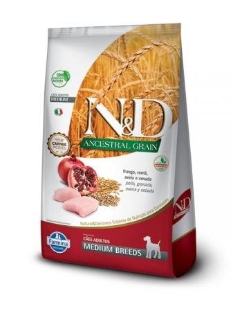 ND ANCESTRAL CANINE FRANGO ADULTO MEDIUM 10,1KG