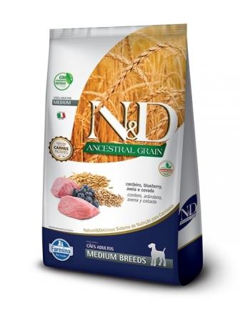 ND ANCESTRAL CANINE CORDEIRO ADULTO MEDIUM 10,1KG