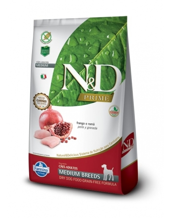 ND PRIME CANINE FRANGO ADULTO MEDIUM 10,1KG
