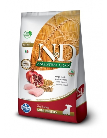 ND ANCESTRAL CANINE FRANGO PUPPY MINI 2,5KG