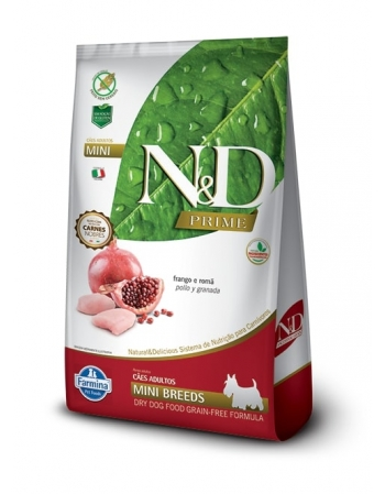 ND PRIME CANINE FRANGO ADULTO MINI 800GR
