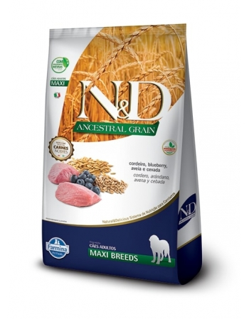 ND ANCESTRAL CANINE CORDEIRO ADULTO MAXI 10,1KG