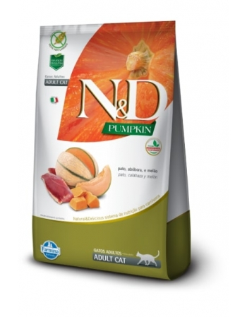 ND PUMPKIN FELINE PATO ADULTO 7,5KG
