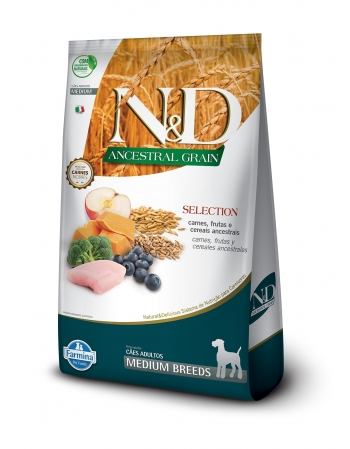 ND ANCESTRAL SELECTION CANINE SELECT ADULTO MEDIUM 15KG