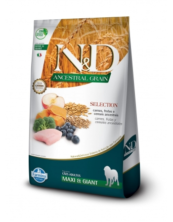 ND ANCESTRAL SELECTION CANINI ADULTO MAXI GIANT 15KG