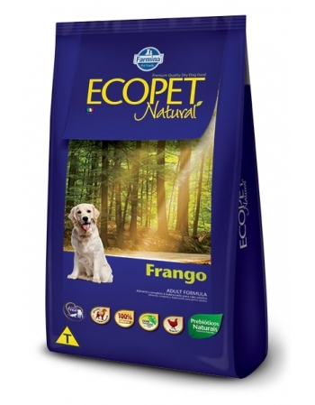 ECOPET NATURAL FRANGO ADULT 15KG