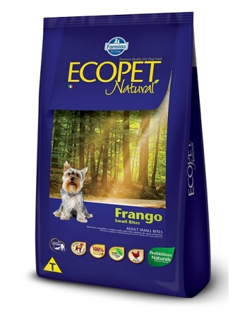 ECOPET NATURAL FRANGO ADULT SMALL B 15KG