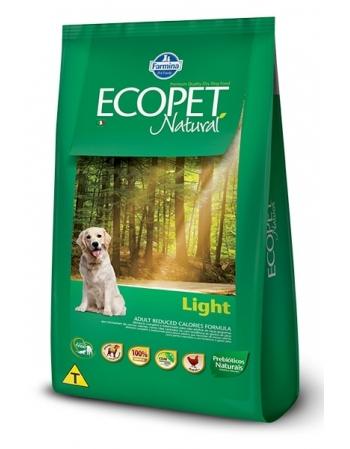 ECOPET NATURAL LIGHT ADULT 15KG