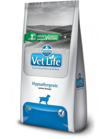 VET LIFE CANINE HYPOALLERGENIC 2KG
