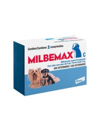 MILBEMAX CAO 2.5/25MG (5KG - 2 COMPR)